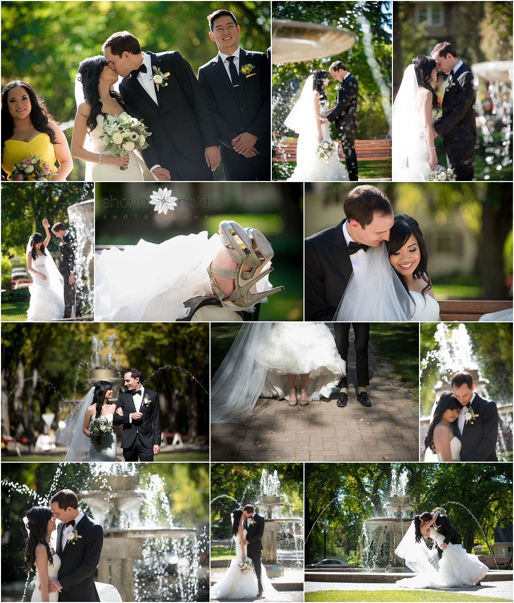 formal wedding photographs