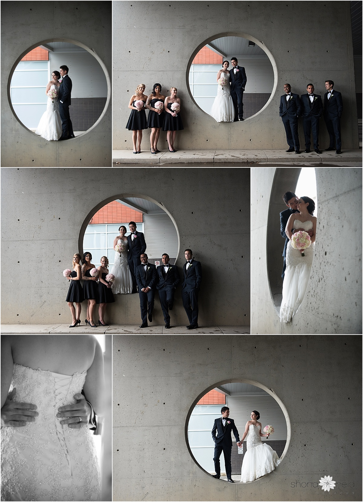 formal wedding photos