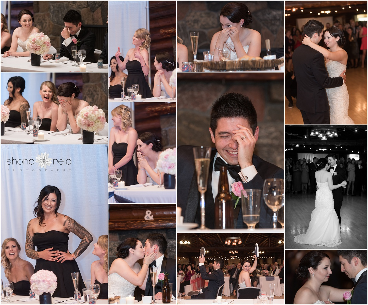 Edmonton wedding reception
