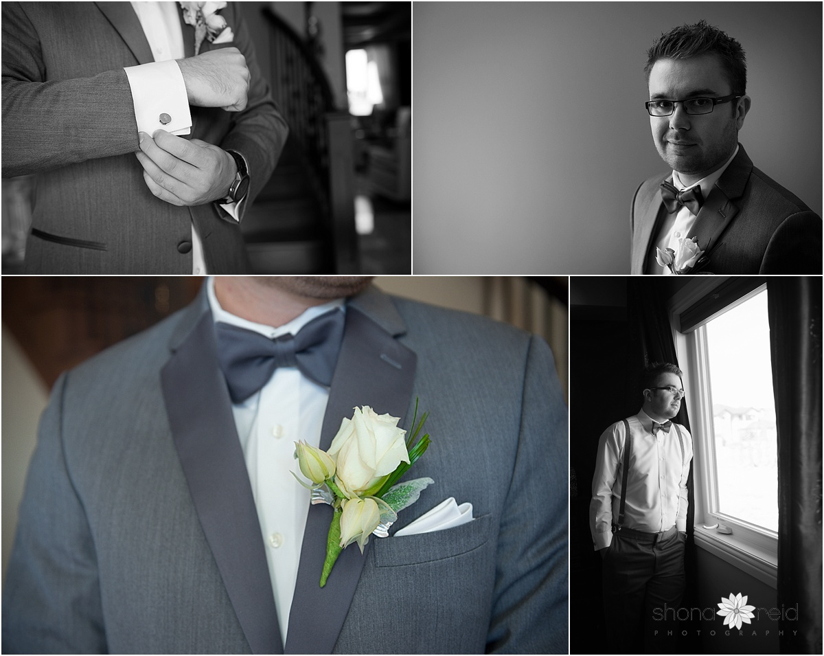 Edmonton Wedding Photography Groom