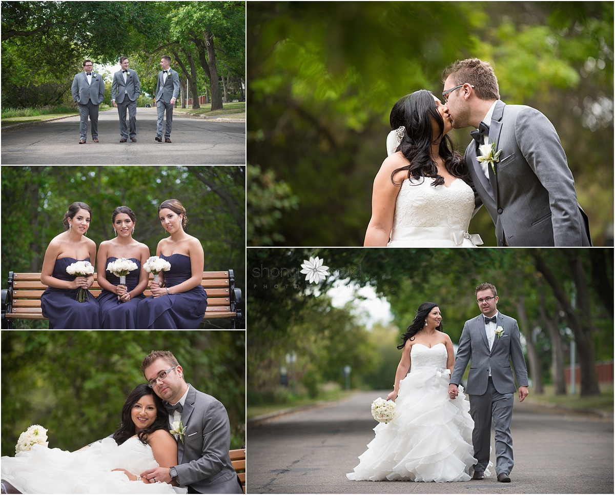 Edmonton Wedding Photography bridal party