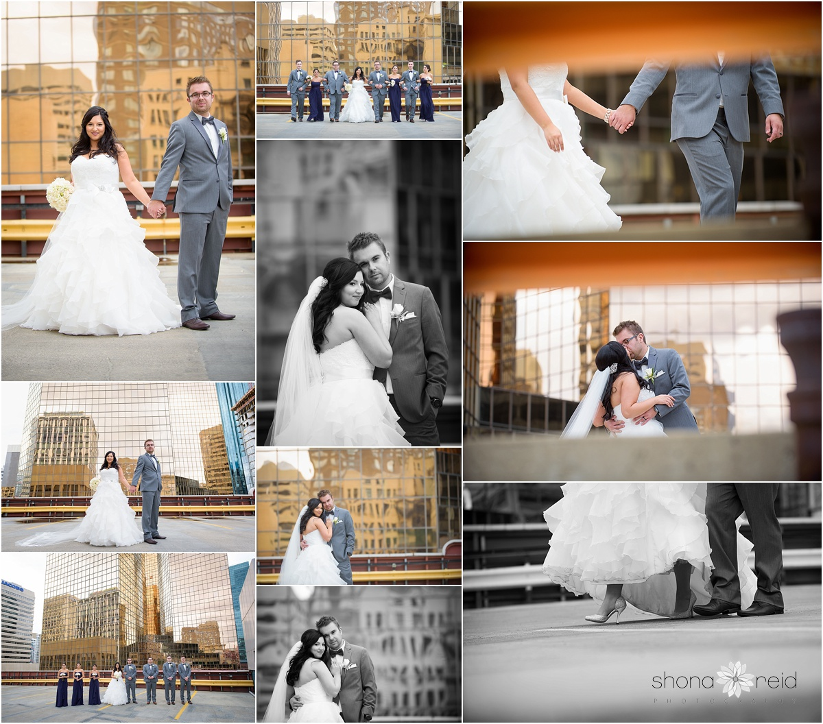 Edmonton Alberta wedding photography Bridal party