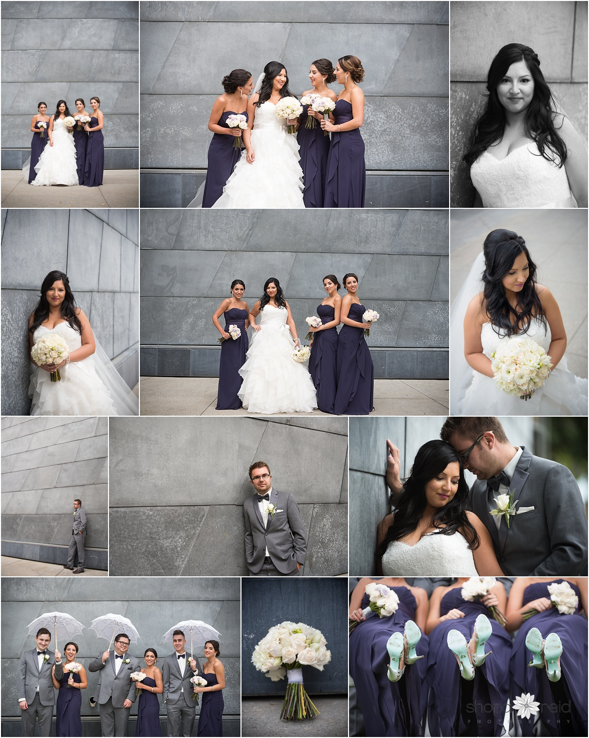 Edmonton Wedding Photography, bridal party