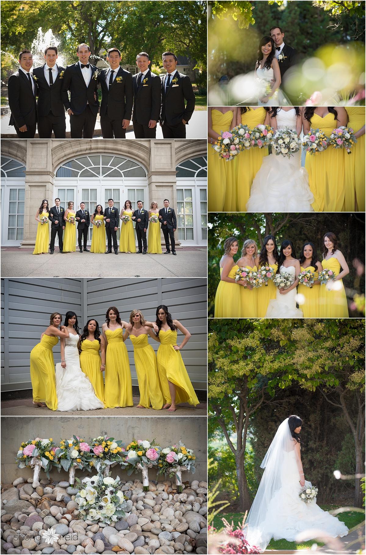 Edmonton formal wedding photos
